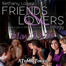 Friends & Lovers Tour button